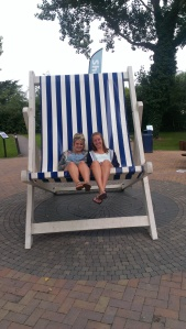 BFF - Katie and Finola at Burnham