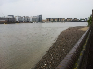 Thames, low tide